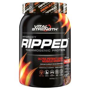 Vital Strength Hydroxy Ripped Chocolate Thermogenic Protein Powder 600 gram