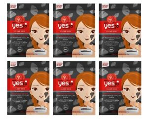 Yes-To-Tomatoes-Detoxifying-Charcoal-DIY-Powder-to-Clay-Mask-1-Ct-6-Pack