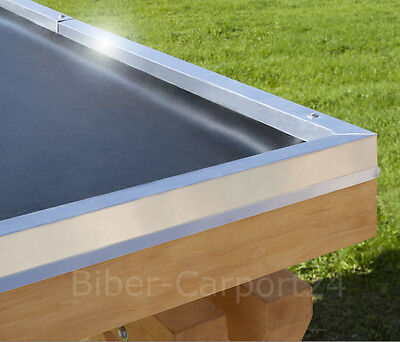 EPDM-Dachfolie für Carport Garage Flachdach Dachbegrünung Dach Folie Balkon 1m²
