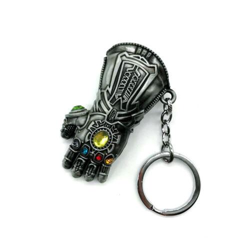 Avengers Infinity War Thanos Infinity Gauntlet Alloy Key Chains Keychain Keyring