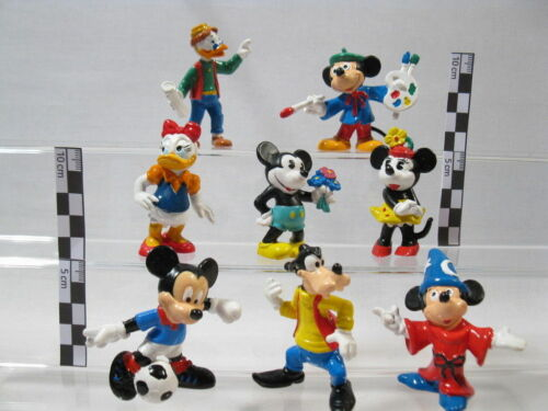 Micky Fantasia Düsentrieb  8 Figuren Bully Disney Classic  60150 Daisy Minni