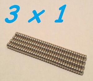 100-MAGNETI-NEODIMIO-3X1-MM-CALAMITA-POTENTE-FIMO-CERAMICA-MAGNETE-CALAMITE