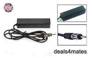Elettronica-Auto-Autoradio-Antenna-Radio-Am-Fm-Corte-Amplificata-Universale