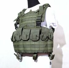 """Tactical Chest Vest """"PAROL"""" MOLLE System in Olive color from SSO Russia"""