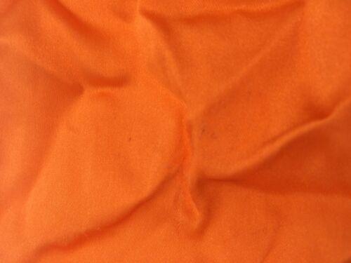 $95 BLOOMINGDALES Mens HANDKERCHIEF SOLID ORANGE CASUAL DRESS SILK POCKET SQUARE