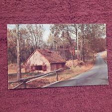 Vintage Postcard The Blacksmith Shop, Hopewell Village Site, Birdsboro, Pa.