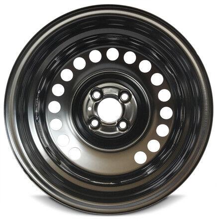 "Wheel For 2012-2019 Nissan Versa New Steel Rim 15/"" 17 Spokes Black 4-100 15x5.5"