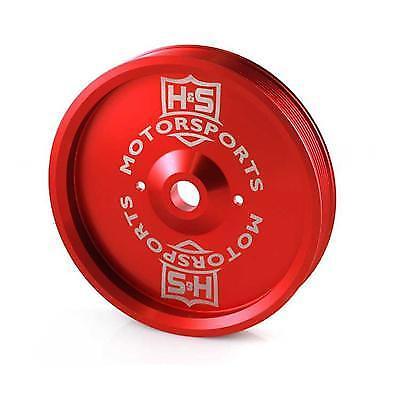 03-16 DODGE 5.9L DIESEL H/&S MOTORSPORT DUAL CP3 RED PULLEY..