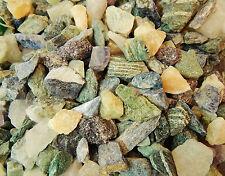 Rough Gemstones Crystals Mix Lapidary Cabbing Tumbling Rocks 1 Lb Lot USA Seller