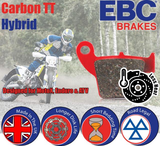 Rear EBC CarbonX / TT Brake Pads Off-Road for Yamaha YXR