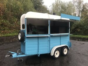 Image Is Loading Horse Box Conversion Wood Fired Pizza Oven Mobile