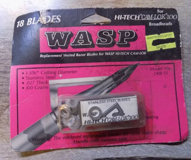 NIP Select One Wasp Replacement Blades 75gr 100gr 125gr Vintage