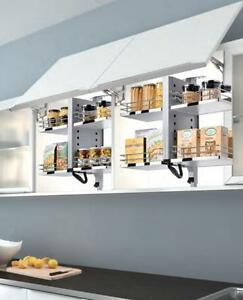 Image Is Loading Pull Down Kitchen Wall Cabinet Shelf System 2