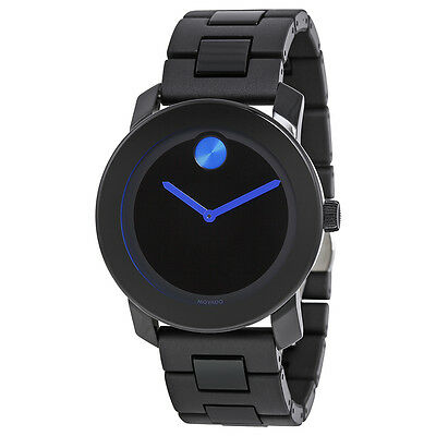Movado Bold 42 mm Stainless Steel Mens Watch 3600099