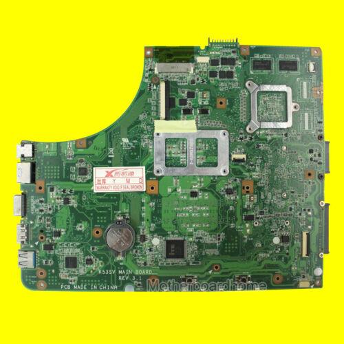 K53SV Motherboard For ASUS A53S K53S X53S K53SC 512MB Laptop Mainboard REV 3.0