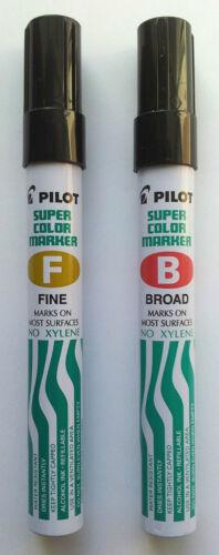 PILOT SUPER COLOR MARKER Marks on Most Surfaces