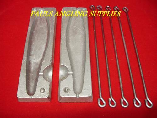 TFT Fishing Lead Weight Mould 12 oz Lead Gill Pirk