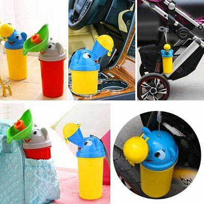 Red Travel Portable Car Potty Urinal Toilet Pee Bottle for Baby Boys and Girls