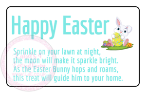 Bunny-Bait-Stickers-Easter-Bunny-Sparkles-Lawn-Labels-Sweets-Cone-Hamper-Box