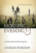 Morning and Evening by Charles H. Spurgeon (1991, Hardcover)