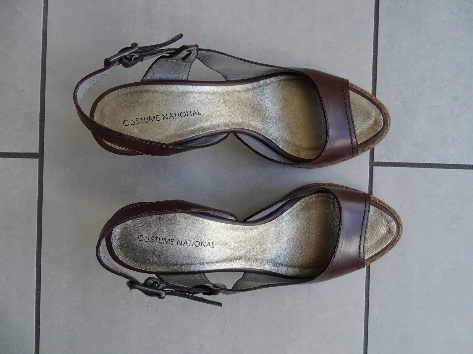COSTUME NATIONAL  Pumps  Leder Made in in Made   Gr. 36 w. neu db399e