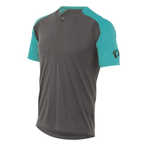 Pearl Izumi Men/'s Divide Jersey Short Sleeve Cycling Top Monument Grey 19121505