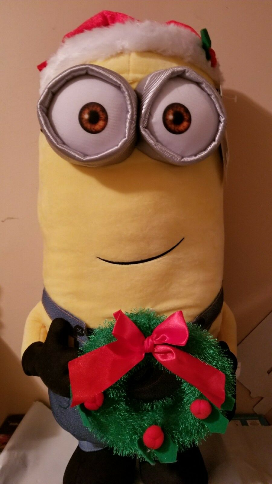 Despicable Me Kevin Kevin Kevin Christmas Greeter 24  New 2017 f7db0f