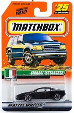 Matchbox #25 Ferrari Testarossa With MB 2000 Logo New On Card