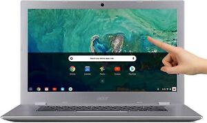 "🔥New Acer Chromebook 15.6"" IPS Full HD Touch Intel N3550 4GB LPDDR4 32GB Webcam"