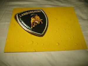 Lamborghini Diablo brochure 8 pages Roadster, SV &  VT English