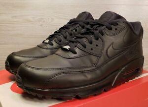 de Air Zapatillas 302519 deporte de Max Nike negro en entrenamiento Tamaño 9 cuero 90 001 gqwdWfIBI