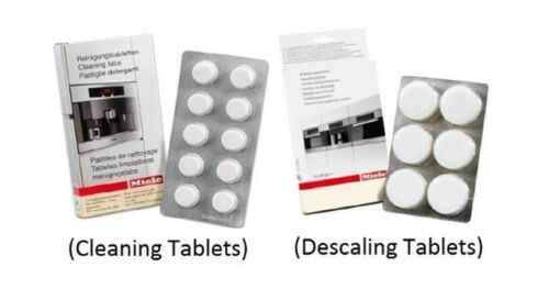 10pk 6pk MACCHINA per il caffè Miele Pulizia Tablet /& Decalcificazione Compresse