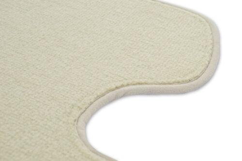 98-06 Velour Fußmatten Satz für BMW 3 E46 - Beige Premium Qualität
