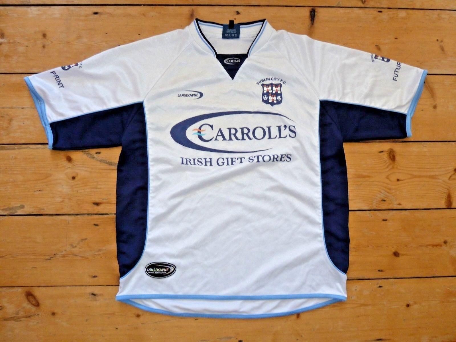 Dublin City Calcio Maglia Large Lansdowne Trikot Maglia Maglia Irlanda Eire