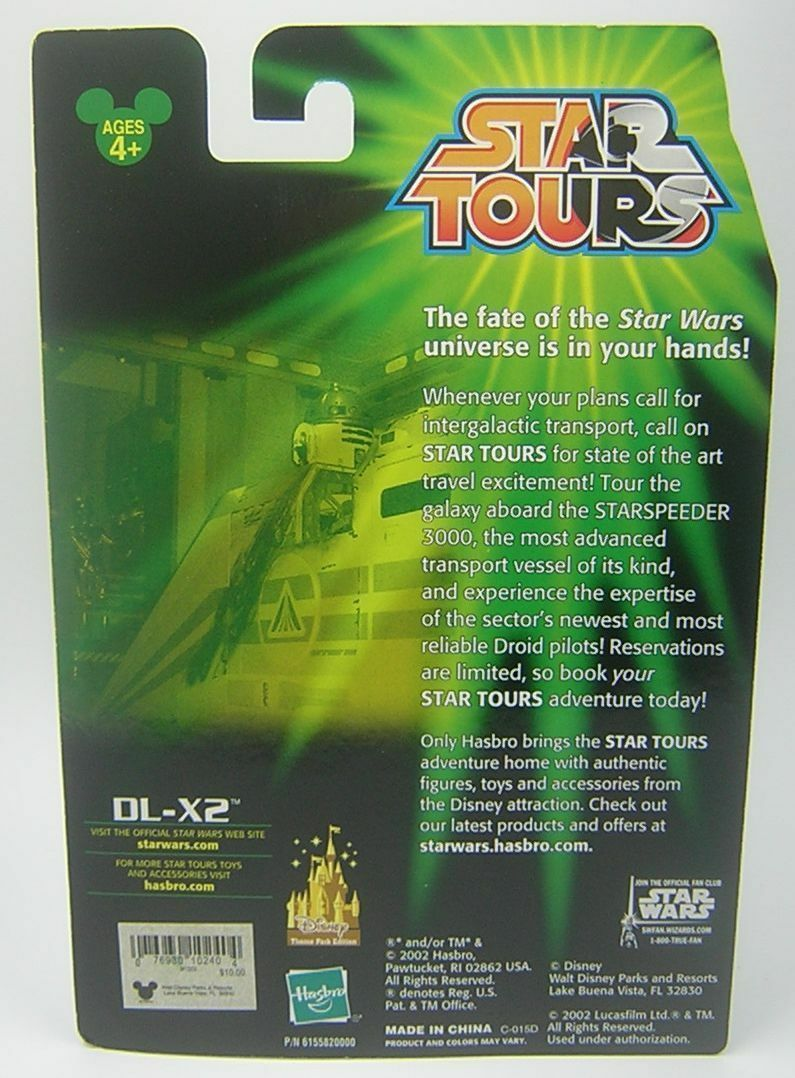 Star Wars Star Tours Tours Tours EXCLUSIVE DL-X2 b3b34c