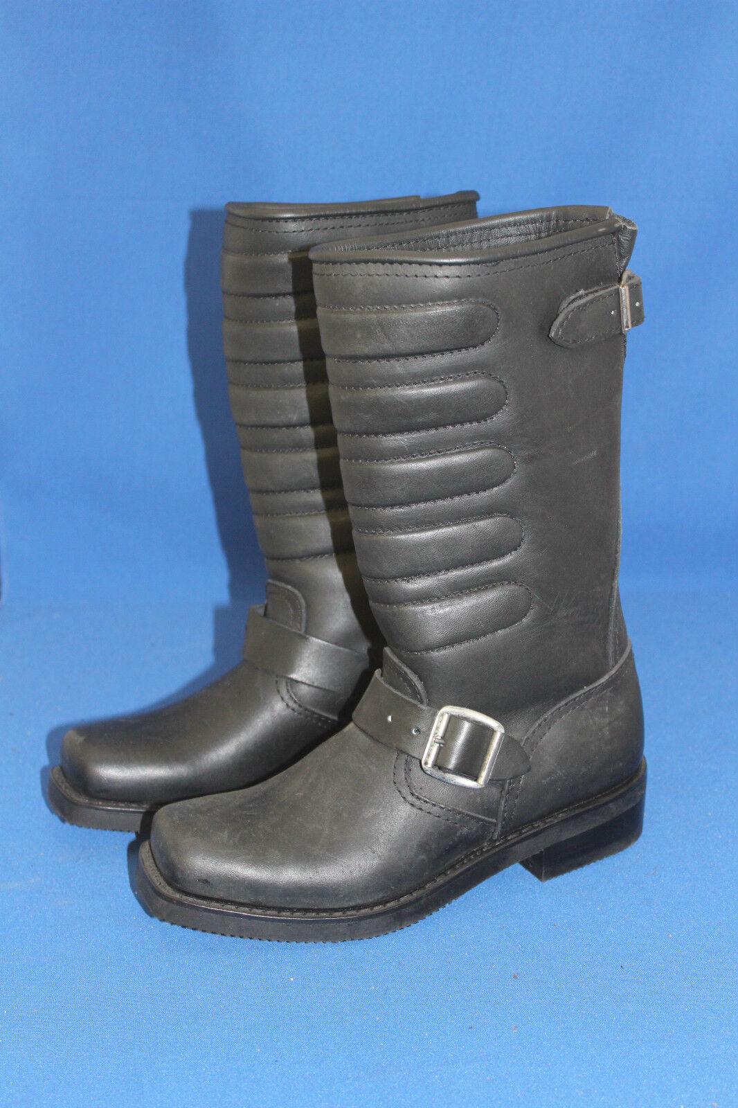Sendra Stiefel  cowboystiefel westernstiefel Biker neu leder handmade  Stiefel gr. 37 schwarz fdab84