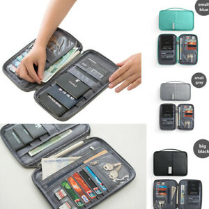 Travel-Wallet-Family-Passport-Holder-Accessories-Document-Organizer-Bag-Case