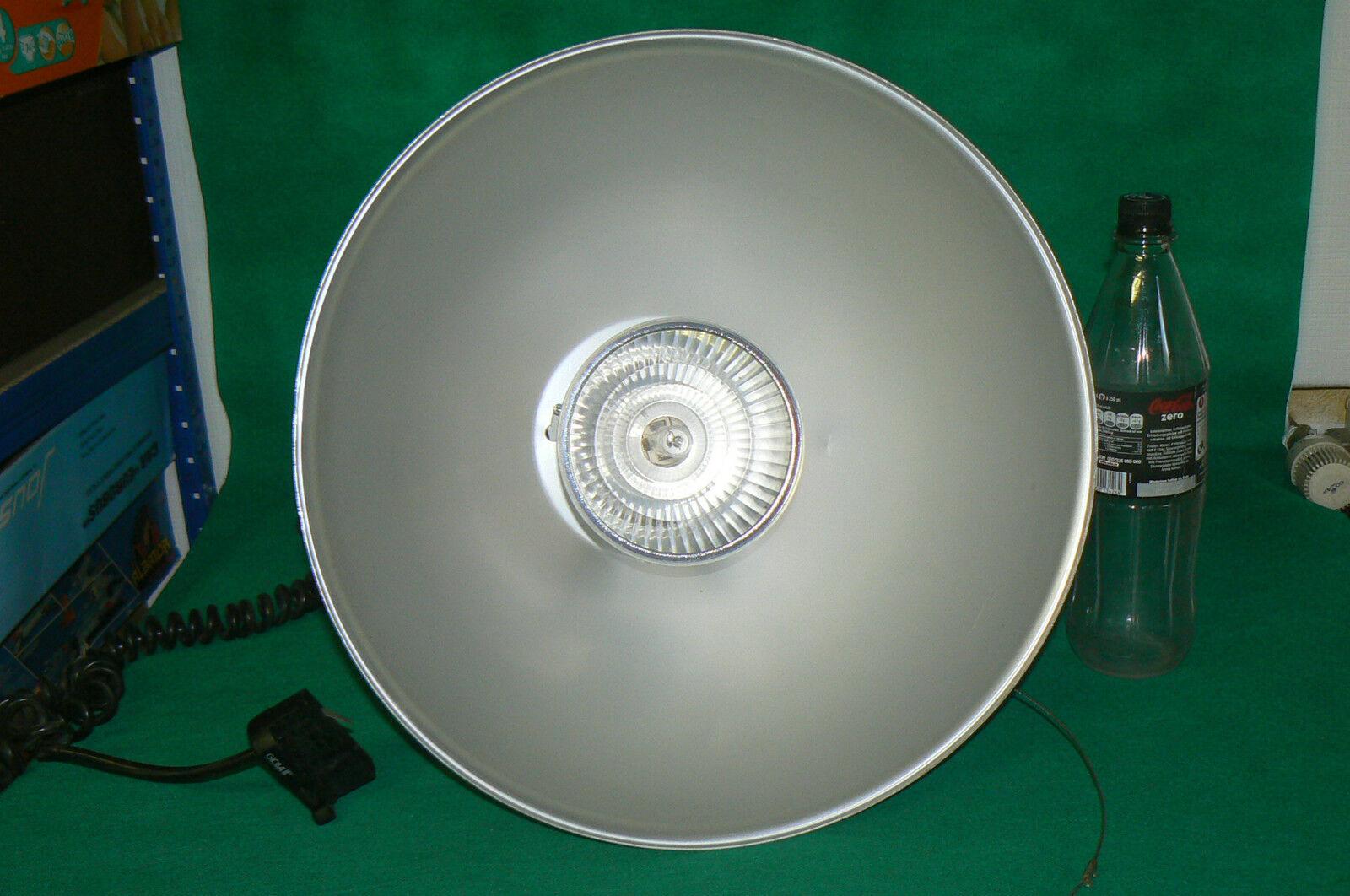 Enorme lampe suspension en en suspension alu d'usine d'atelier design industriel pour loft 2 c849e9