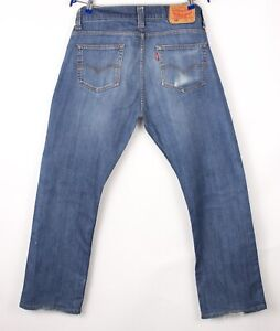 Levi's Strauss & Co Hommes 506 Extensible Jambe Droite Jean Taille W34 L30