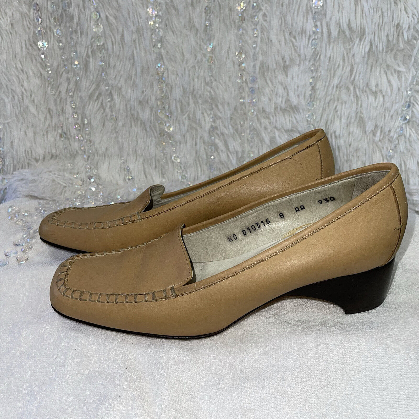 Cole Haan Country Leather Loafers Womens 8AA Tan … - image 3