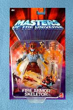 FIRE ARMOR SKELETOR MASTERS OF THE UNIVERSE MOTU 6 INCH FIGURE MATTEL