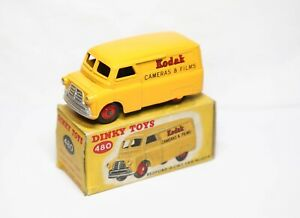 Dinky 480 Bedford 10 CWT Van Kodak In Its Original Box - Near Mint Vintage Model