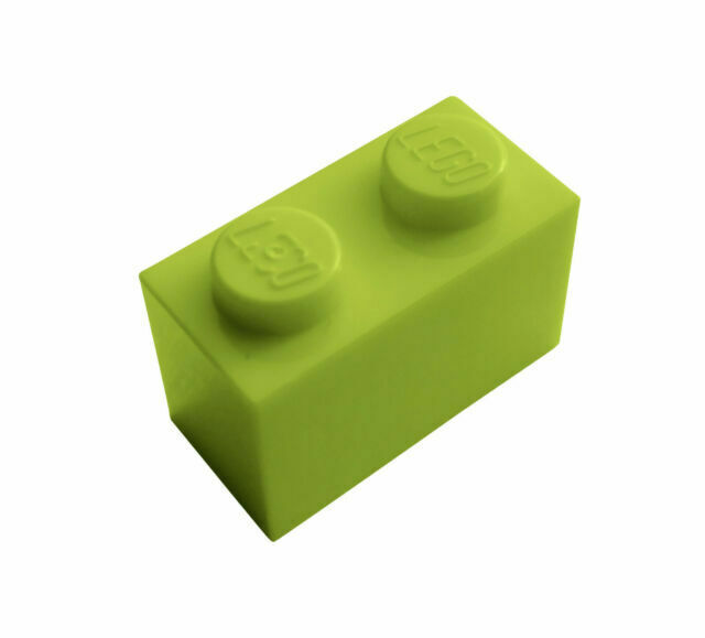 LEGO New Lot of 20 Yellowish Green 1x1 Friends Building Bricks