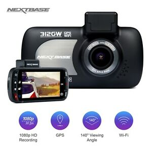Nextbase-312GW-Dash-Cam-1080P-2-7-034-LED-Car-Recorder-Night-Vision-GPS-Wi-Fi