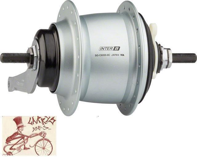 SHIMANO NEXUS SG-C6000 8-SPEED INTERNALLY GEARED COASTER BRAKE 36H  REAR HUB KIT  just for you