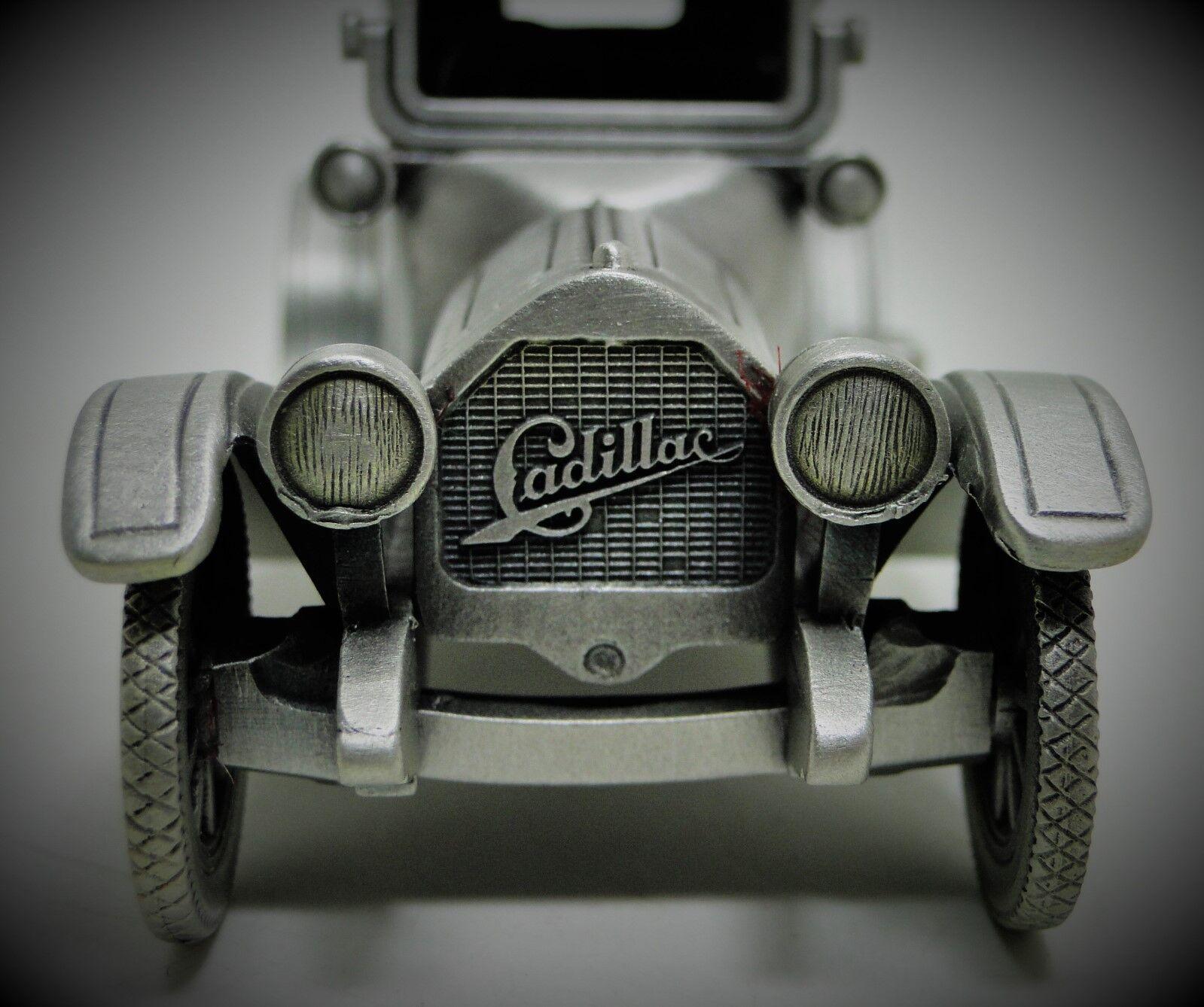 Cadillac 1 Antiguo Vintage Sport Car 1910s T 24 carrera 43 Modelo 12 Metal 18 Racer