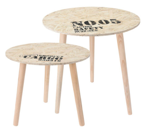 Design table d/'appoint-bois table ronde//40 ou 50 CM-side table table basse