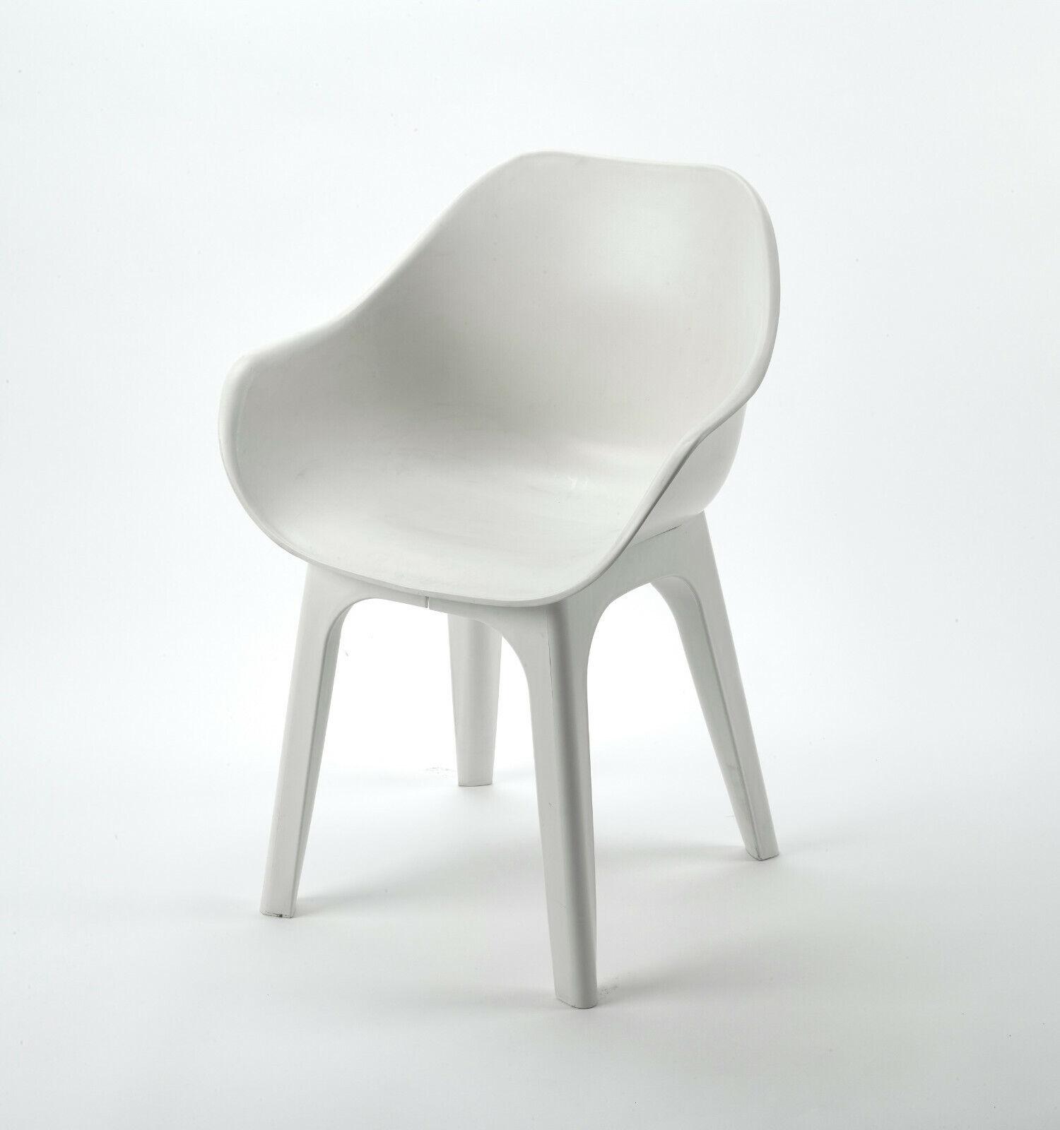 IPAE cásCocheas silla Ghibli blancoo cásCocheas sillón Lounge sillón muebles de jardín silla de jardín