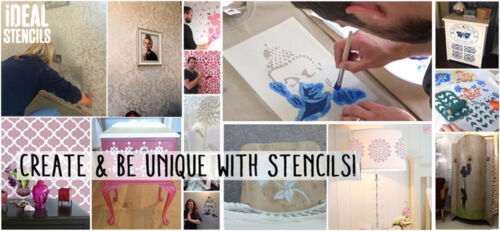 Darth Vader Face Stencil Reusable Plastic Art Craft Wall Ideal Iconic Stencil