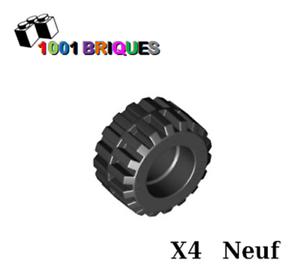 x 12mm Black Lego 87697 x4 Tire 21mm D
